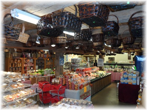 Inside Village Farm Market