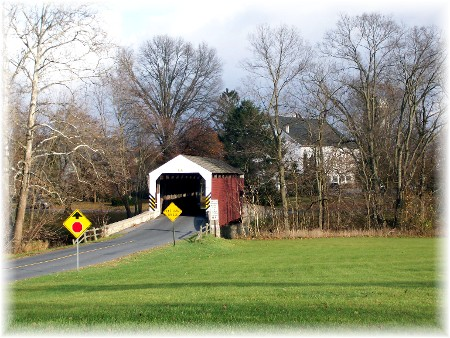Schenck's Mill Covered Bridge in Lancaster County PA