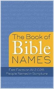 Book Of Bible Names