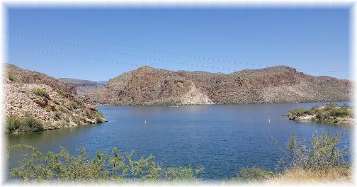 Canyon Lake, Arizona 7/13/16 (Click to enlarge)