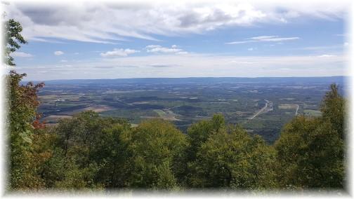 Cumberland Valley vista view 9/11/16