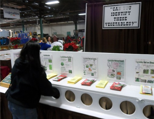 Vegetable mystery at 2013 Pennsylvania Farm Show