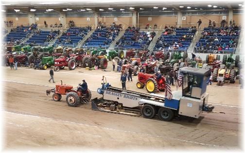 2016 Pennsylvania Farm Show tractor pull 1/13/16