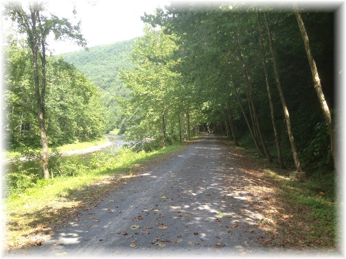 PA grand canyon rail trail 8/15/15