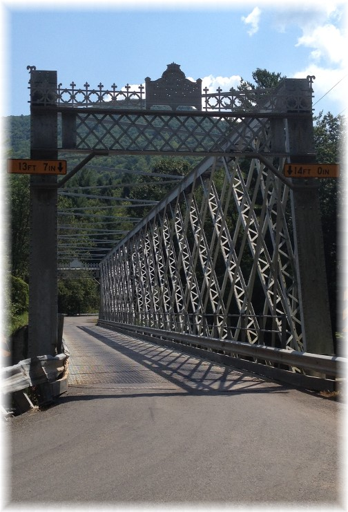Berlin bridge at Slate Run, PA 8/16/15
