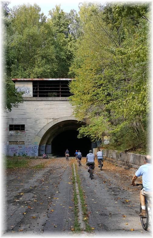 Abandoned Pennsylvania Turnpike tunnel entrance 9/10/16