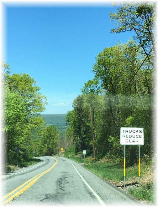 Blue Mountain pass 5/9/17