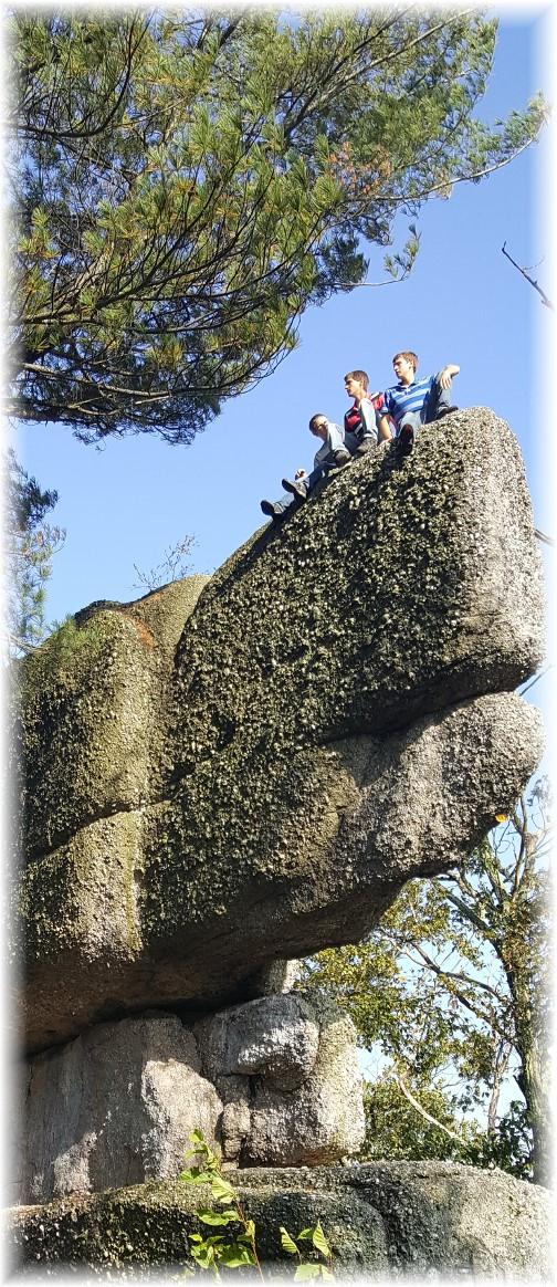 Whale Rock, Boxcar rocks, Lebanon County 10/15/17