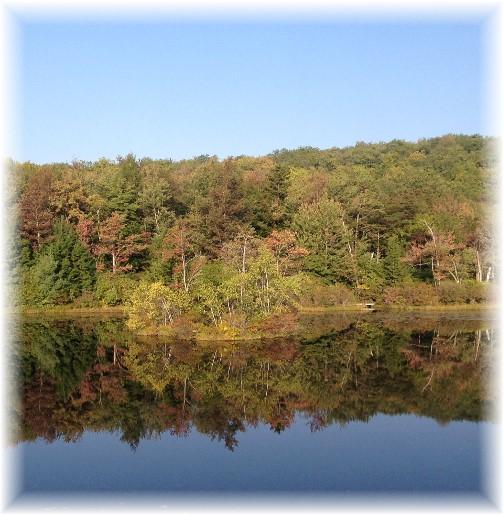 Little Beaver Lake, Poconos 9/19/15
