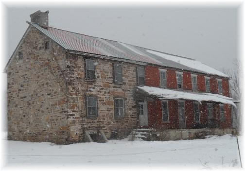 Abandoned Pennsylvania farmhouse 2/9/14