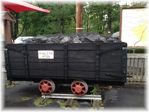 Pioneer Tunnel Coal Mine artifacts 8/10/15