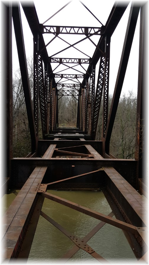 Swatara Creek railroad bridge 4/4/17