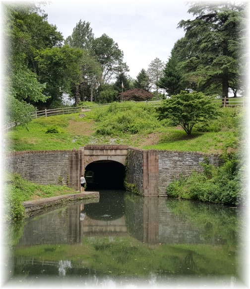 Union Canal Tunnel in Lebanon County 7/11/17