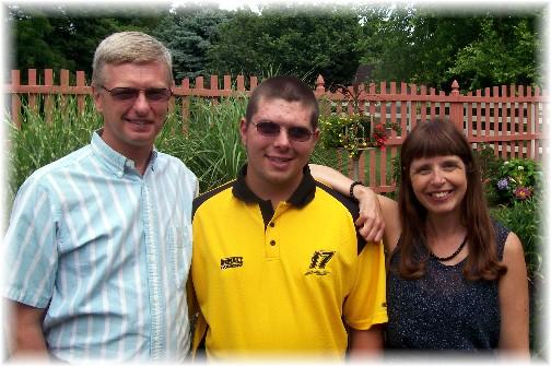 Ash family, Scott, Morgan and Ann 6/19/11