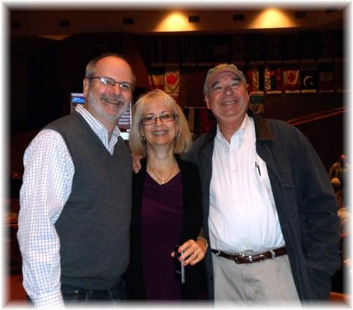 Dave Balinski and wife, friend 10/21/12