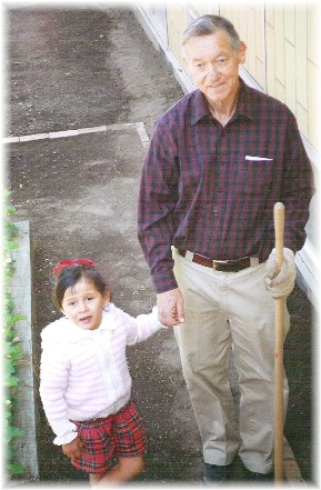 Bill Shibilo with Ester
