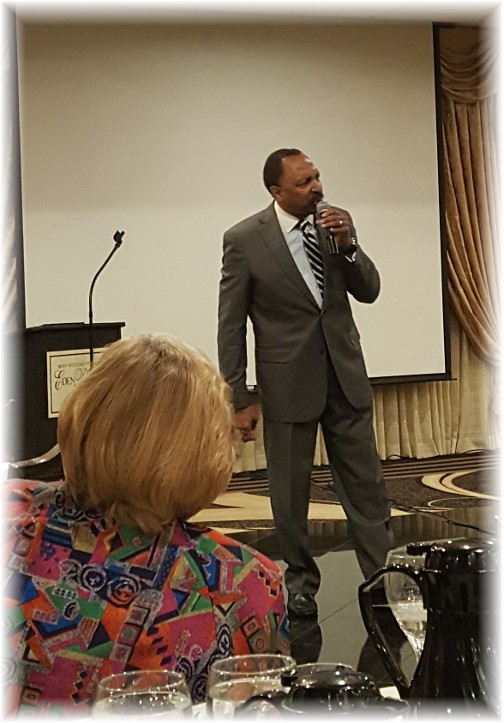 Bishop EW Jackson at American Pastor's Network breakfast 10/5/16