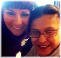 Ester with Britta 10/21/13