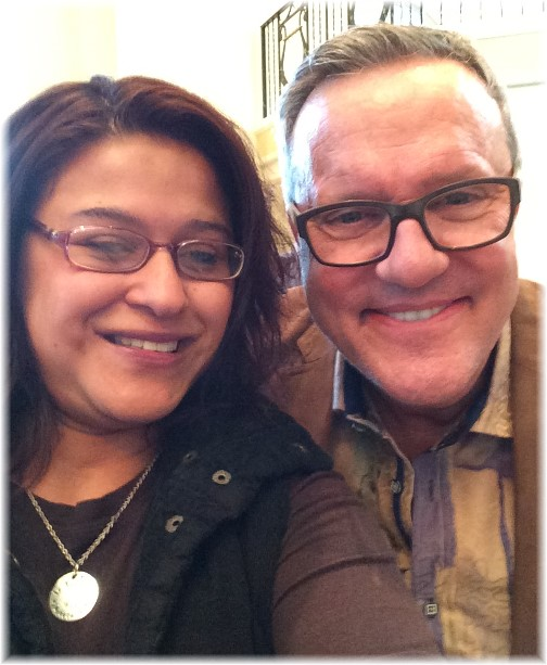 Ester with Mark Lowry 10/4/14