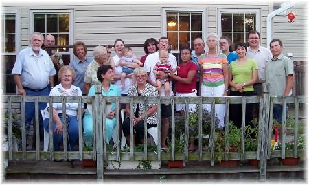 2008 home Bible Study picnic
