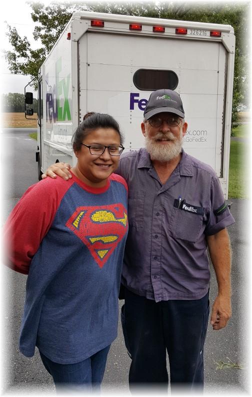 Jim Gambini with Ester 9/29/16