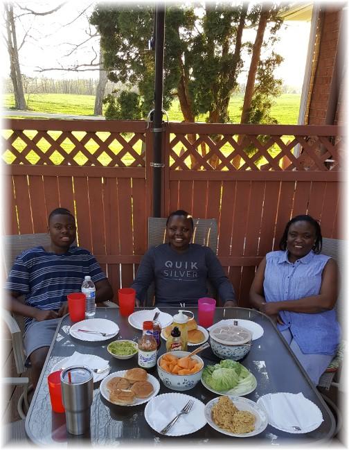 Ncube family 4/16/17