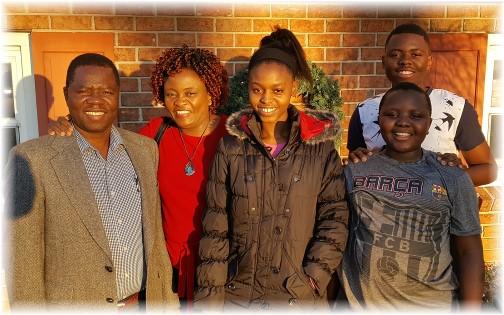Ncube family 12/25/16