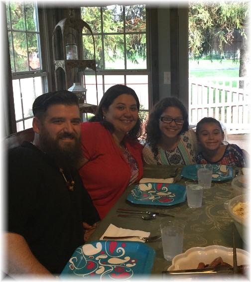 Nick Matangelo and family 6/17/17