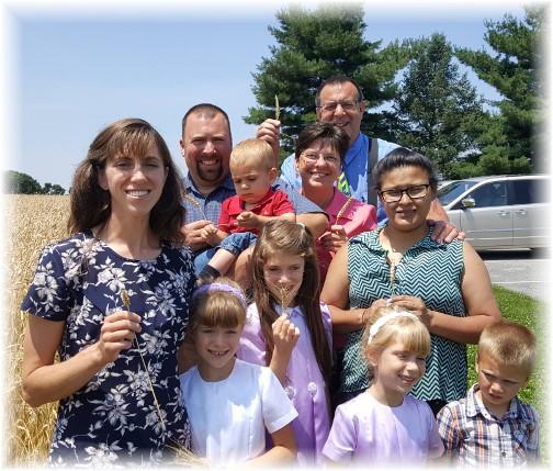 Oberholtzer family 6/26/16