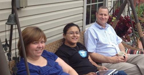 Mark and Carolyn Pulliam 8/23/14