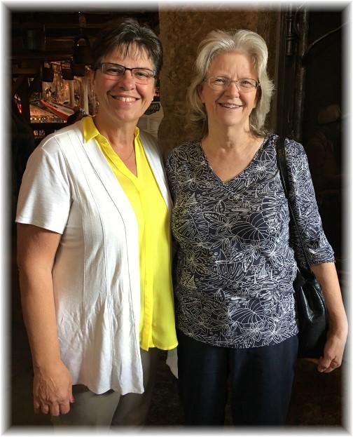 Brooksyne with Sharon 8/1/17