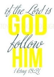 1 Kings 18:21