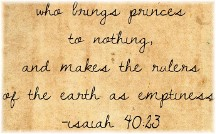 Isaiah 40:23
