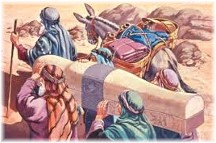 Carrying Joseph's bones