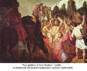 Stephen's stoning