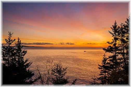 Acadia National Park sunrise (Photo by Howard Blichfeldt)
