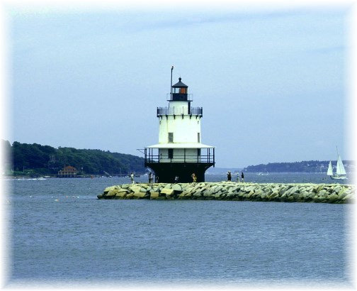 Springpoint Ledge Lighthouse, Portland Maine (photo by Greg Schneider)