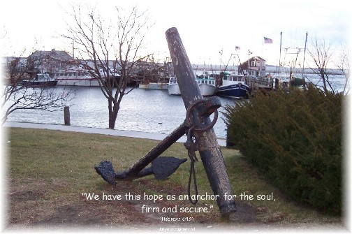 Anchor in Plimouth Harbor