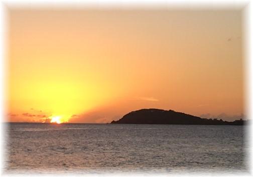 Saint Thomas sunset (Photo by Rick Caldwell)