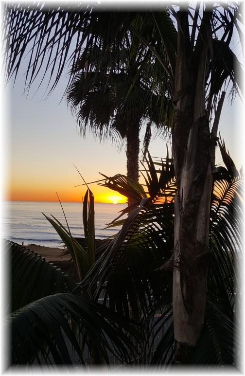 Sunset Cliffs sunset 10/20/16