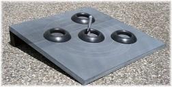 Slate board quoits