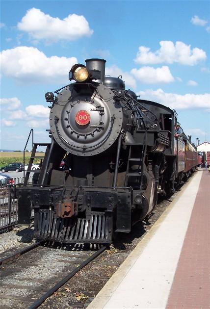 Strasburg steam engine