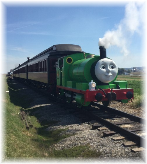 Percy the Tank Engine 9/16/15