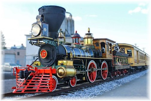 """Engine for the """"Steam Into History"""" train on York Heritage Rail Trail 9/8/15"""