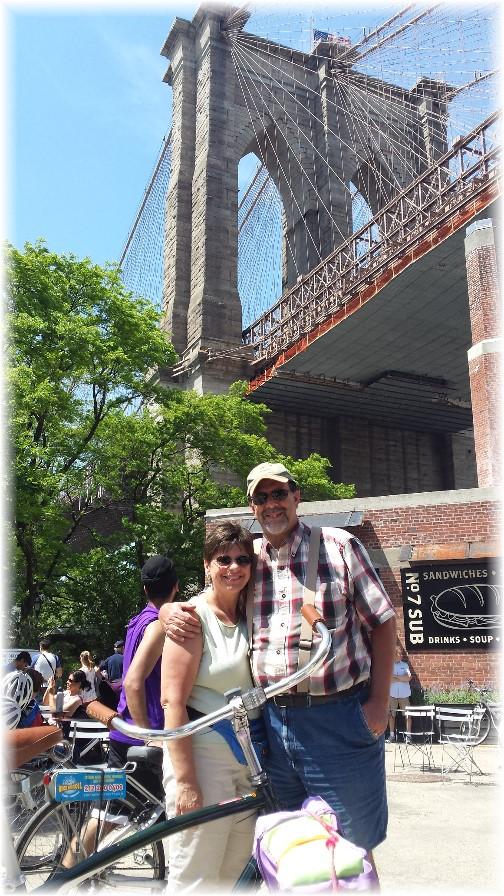 Under Brooklyn Bridge 5/26/14