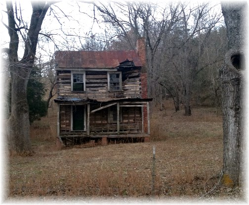 Abandoned farmhouse near Blue Ridge Parkway 11-25-14