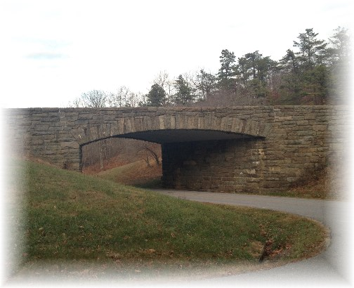 Blue Ridge Parkway bridge 11-25-14