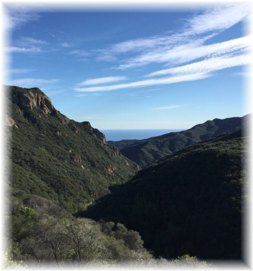 Seaview through Santa Monica Mountains (This photo will enlarge if clicked)