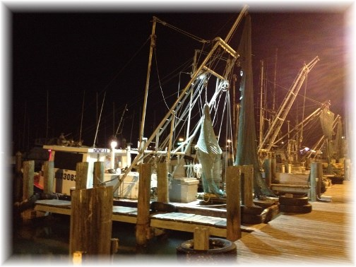 Corpus Christi shrimp boat fleet 5/2/14