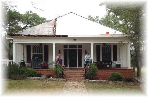 Elaine's house, New Braunfels, Texas 5/6/14